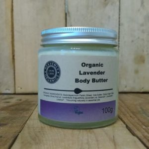 Heavenly Organics Skin Care Organic Lavender Body Butter 100g