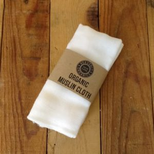 Heavenly Organics Skin Care Organic Muslin Cloth for hot cloth cleansing method