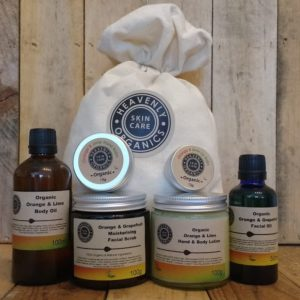 Heavenly Organics Skin Care Citrus Gift Set